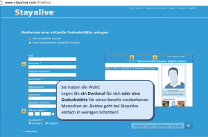 Stayalive: Social Media als digitale Gedenkstätte