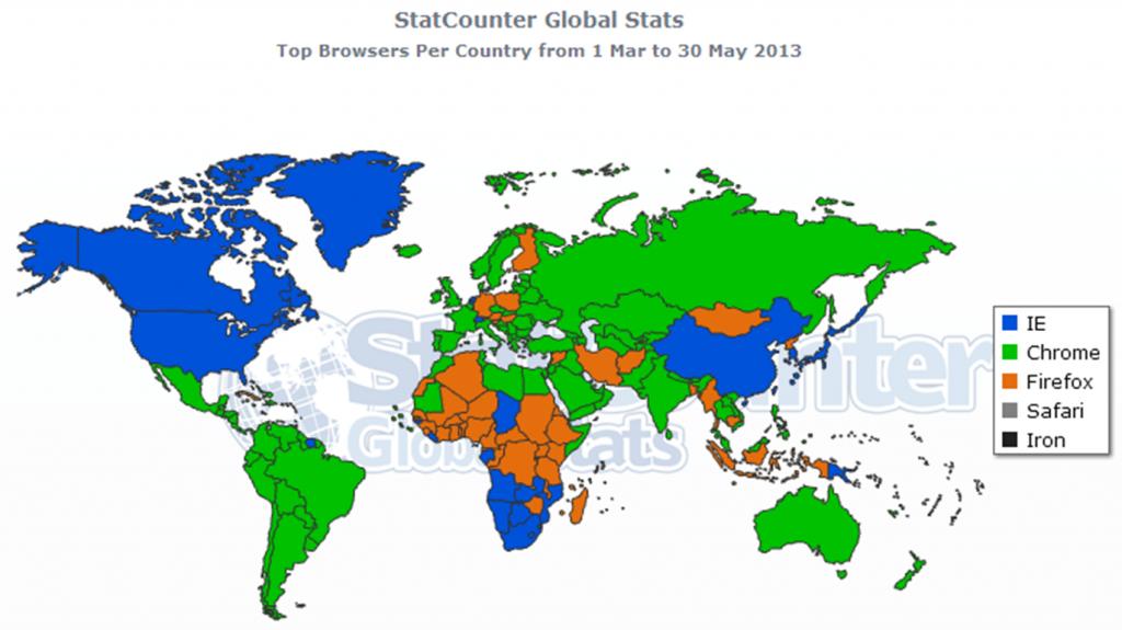 Firefox, Chrome oder Explorer? Browserlieblinge in Deutschland