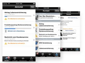 Flexible und übersichtliche Kommunikation mit der Kundenservice-App von atip