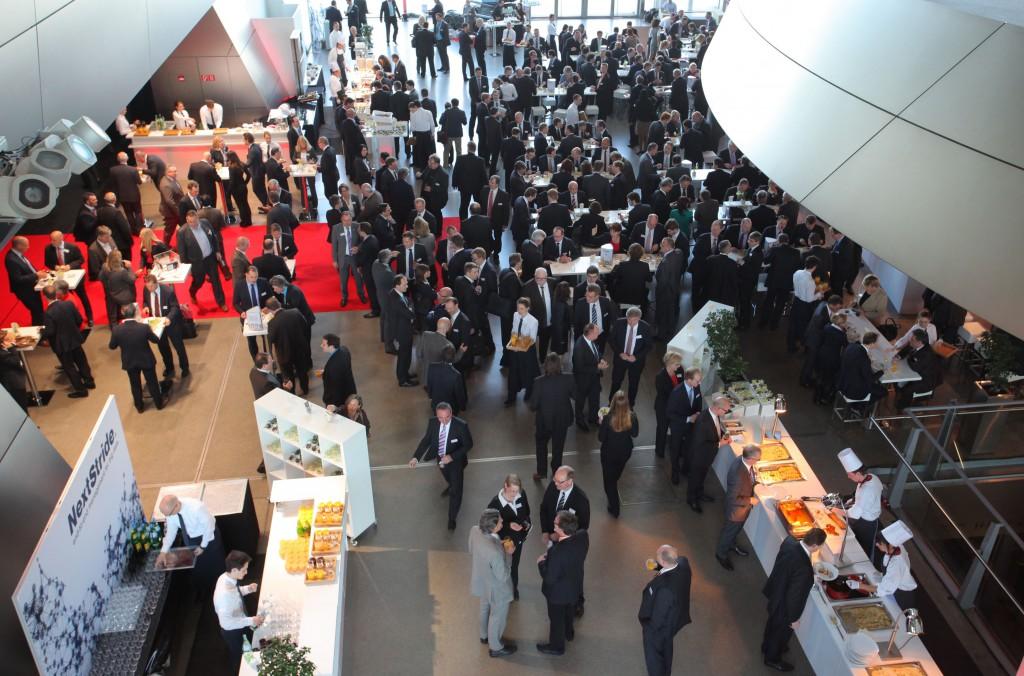 Auch kulinarisch tipptopp - unser FI-TS Management-Forum.