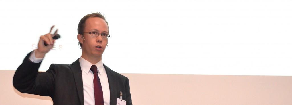 Frank Bitzer sprach auf dem Swiss BPM Forum 2015 in Zürich
