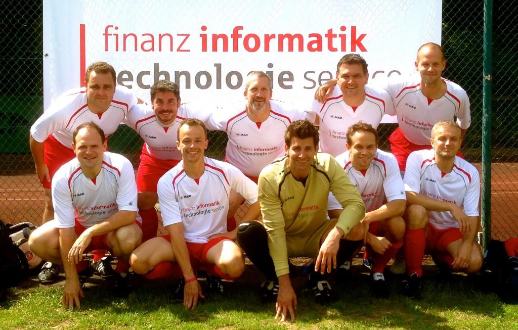 FI-TS Team beim Helaba Fußballturnier