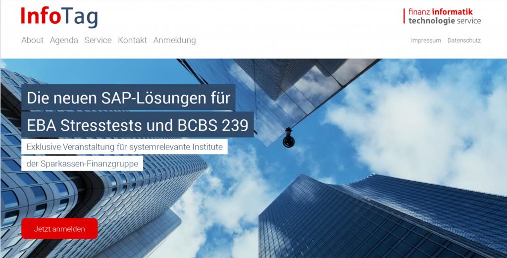 SAP-Lösungen für EBA Stresstests und BCBS 239