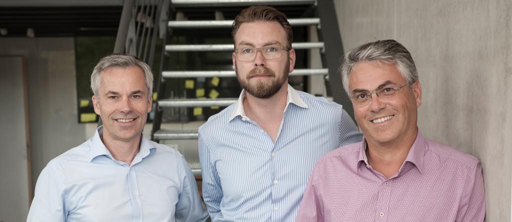 Das Team von moneymeets, v.l.: Johannes Cremer , Dirk Vonden und Dieter Fromm