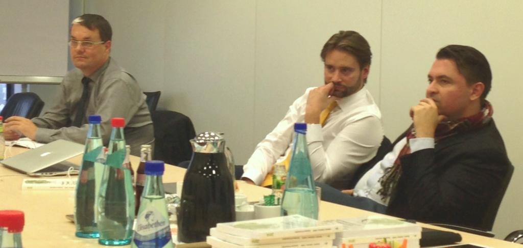von links: Thomas Lerner, Stefan Dieffenbacher und Dirk Emminger