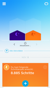 Screenshots Jawbone