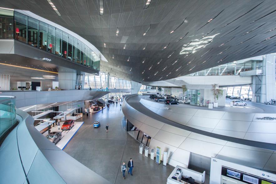 Die FI-TS Versicherungs-Session findet im BMWi -Bereich der BMW-Welt statt