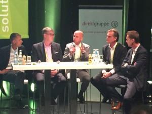 Spannende Diskussionsrunde um Digitalisierung und die disruptiven Kräfte