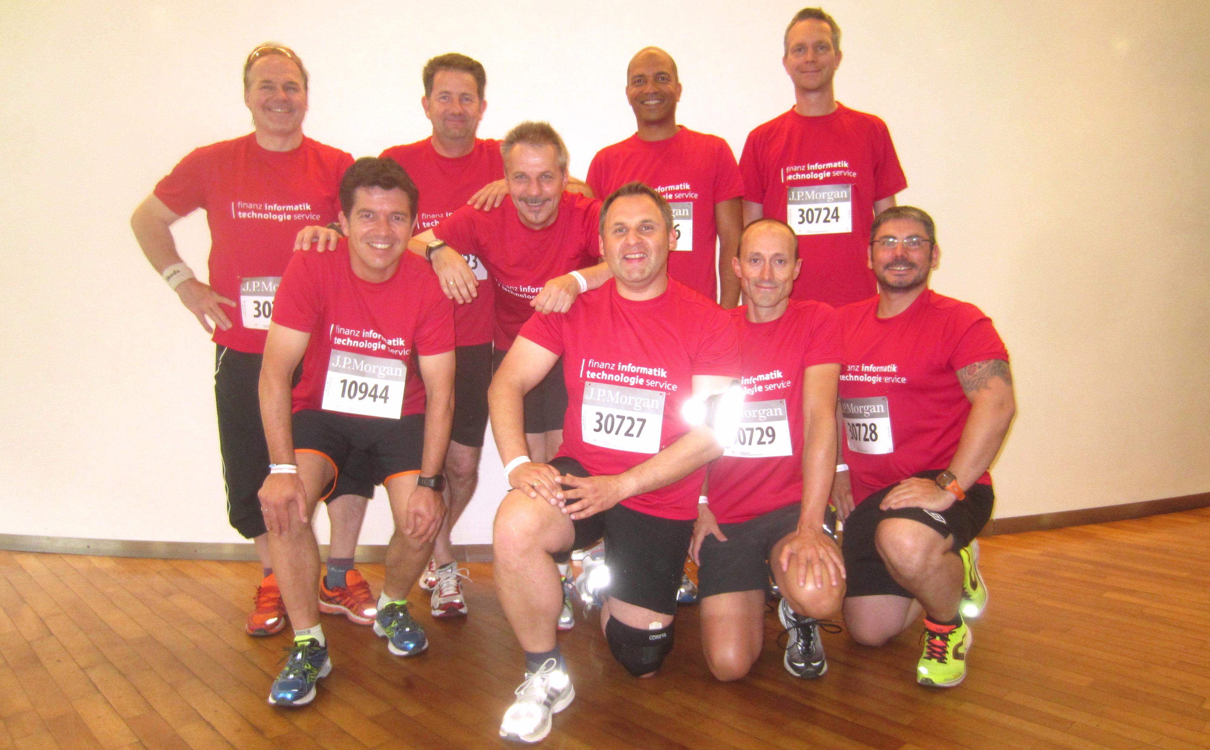 FI-TS Team 2015 beim JPMorgan Lauf