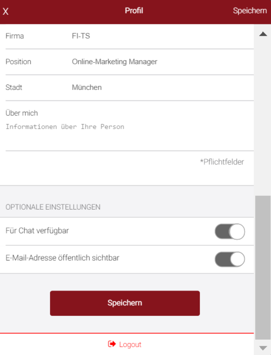 Chatten_FI-TS Management-Forum App